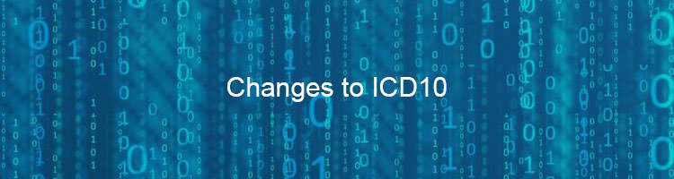Changes to ICD10