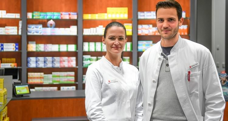 Picture of two Pharmacy Technician Employees