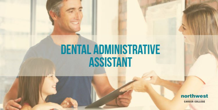 A Dental Administrative Assistant talking with patient