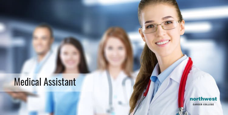 A Female Medical assistant Smiling