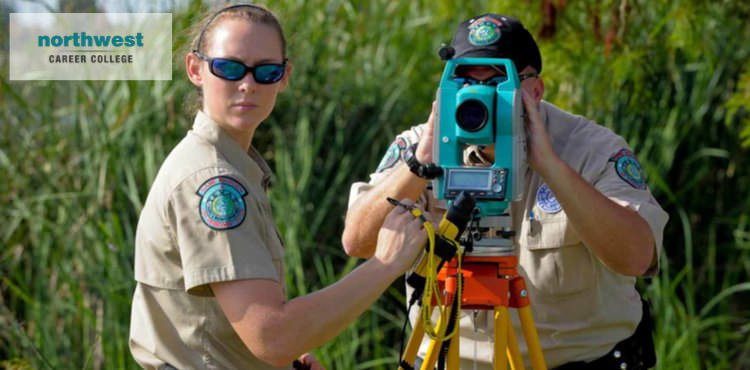 Conservation Officers surveying the land with state-of-the-art equipments.