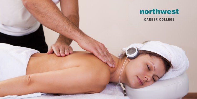 Getting massage while listening to music