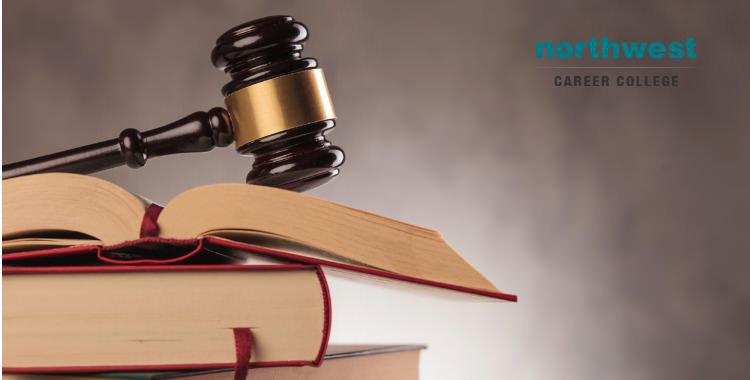 Gavel resting on top of books