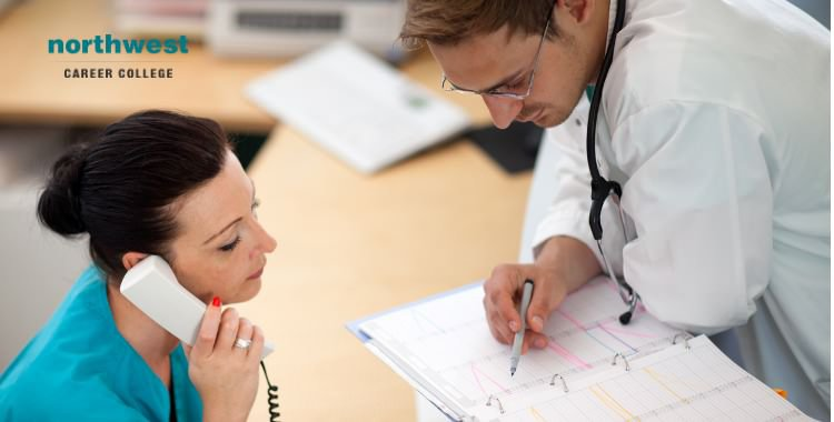 Medical Administrative Assistant at work