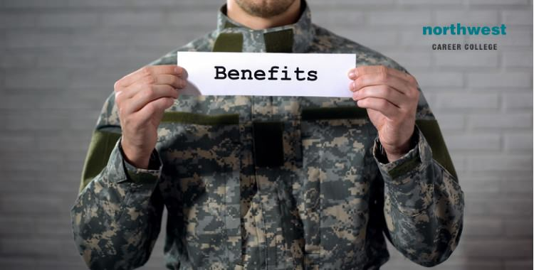 benefits sign in hands of veterans aid