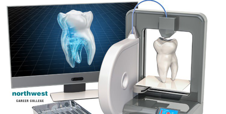 three-dimensional printer 3D printing in dental industry
