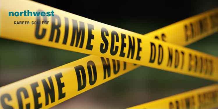 crime scene tape barrier