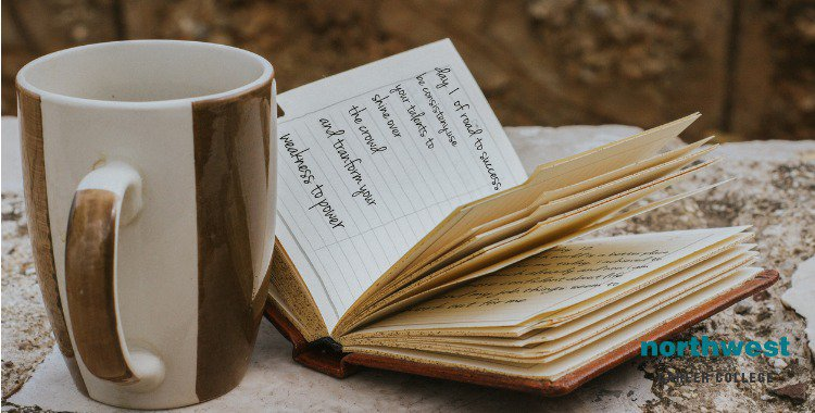 coffee and diary