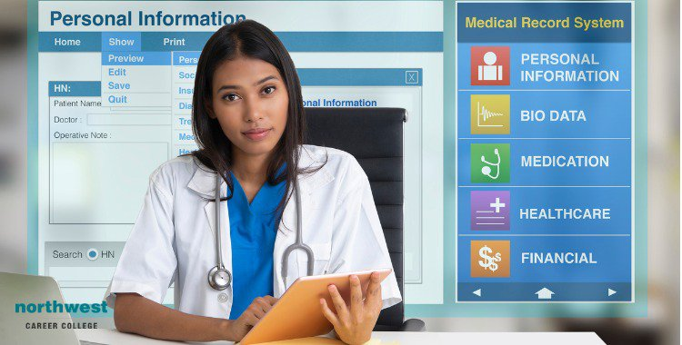 electronic medical record screen