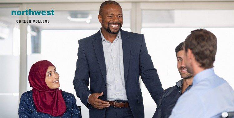multiethnic business executive