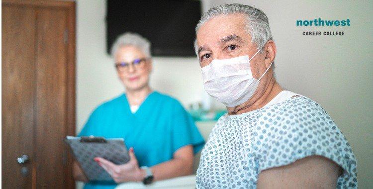 COVID positive patient