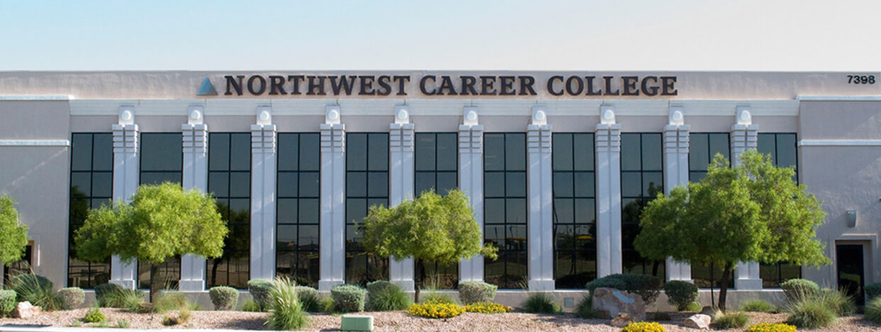 Northwest career college building outside view